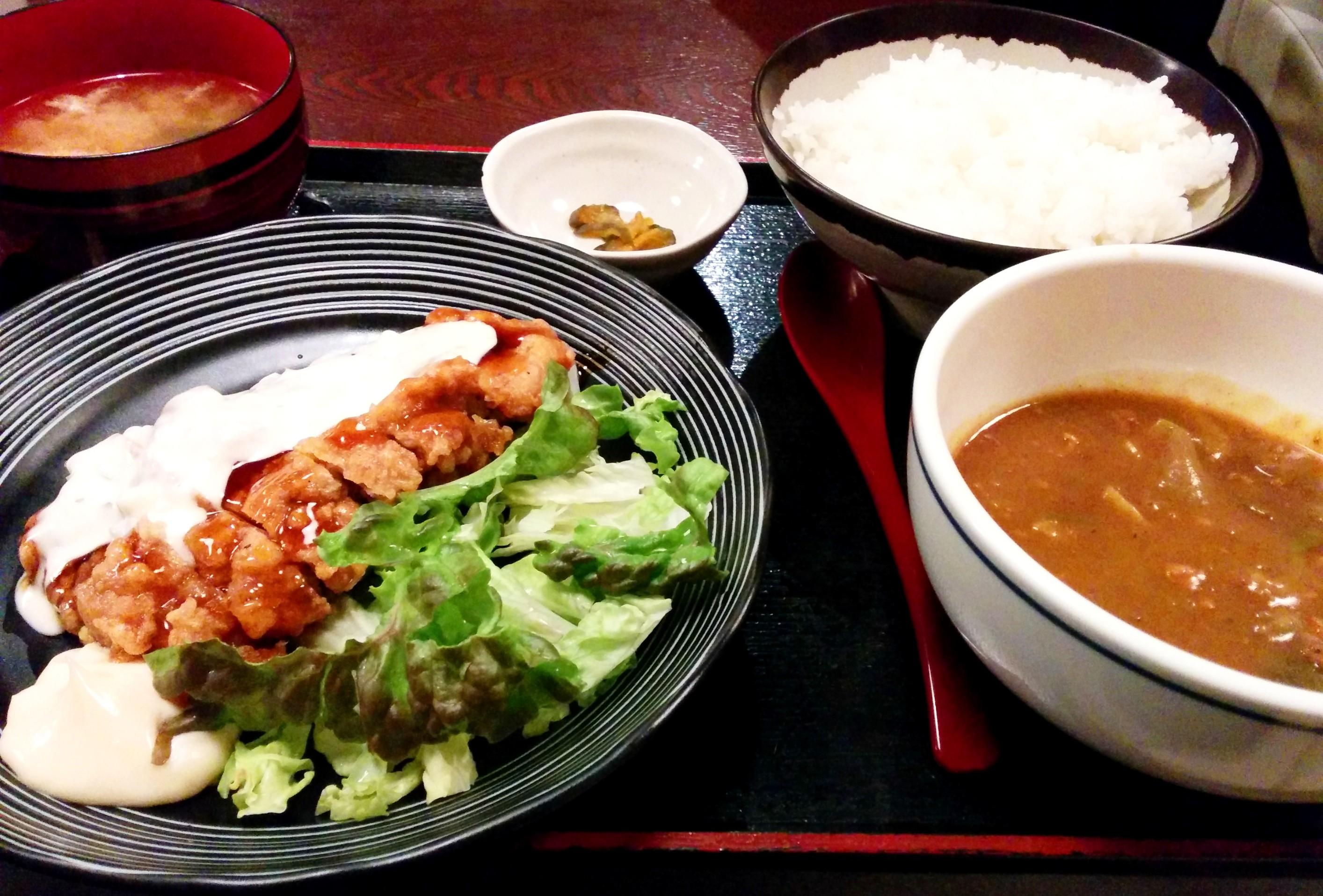(日本語) 茅場町 ごはん・みそ汁おかわり無料 魚きち