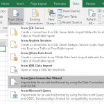 Windows, Excel: Connect Database Directly and Show the Data